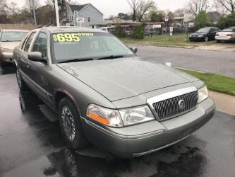 2004 MERCURY GRAND MARQUIS 4DR
