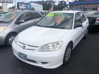 2005 HONDA CIVIC 4DR